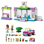 LEGO 41362 Friends Heartlake City Supermarket Grocery Store Set Toy for 4 Year Old Girl and Boy with Buildable Toy Car