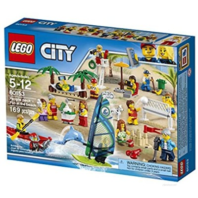"""LEGO UK 60153 """"People Pack Fun At The Beach Construction Toy"""