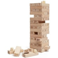 N\C Wooden Building Block Toys Tabletop Games Wooden Layers Of High Educational Toys