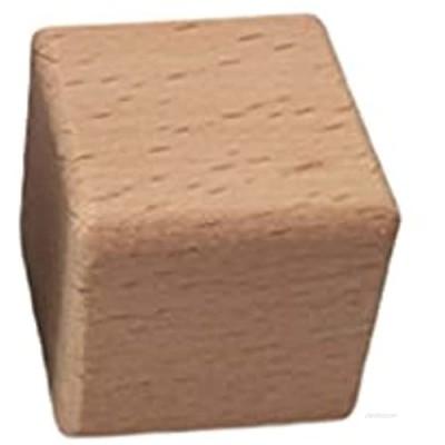 YO-HAPPY Non-toxic Log Color Wooden Block Building Blocks Balancing Block Game Rocks Educational Toy Set 10Pieces