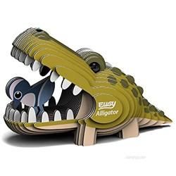 EUGY 043 Alligator Eco-Friendly 3D Paper Puzzle [New Seal]