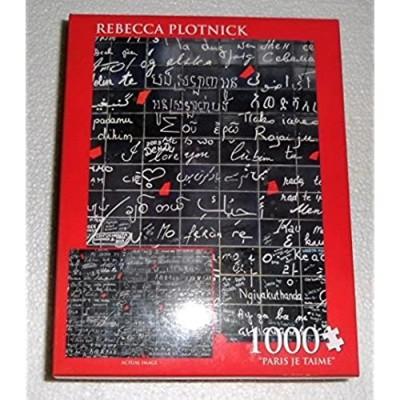 1000 Piece Puzzle Paris Je Taime Rebecca Plotnick by AB