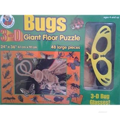Bugs 3-D Giant Floor Puzzle