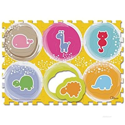Chicco Puzzle Mat Animals  6Pieces