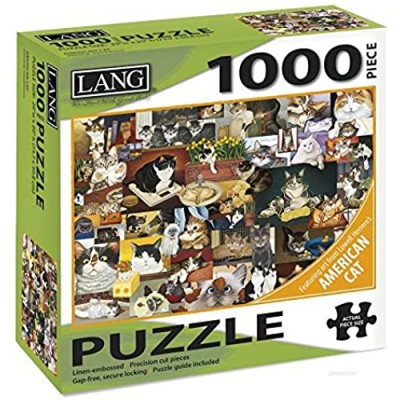 Jigsaw Puzzle 1000 Pieces 29inX20in-American Cat