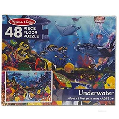 Melissa & Doug  Puzzle Underwater Floor 48 Piece