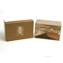 Japanese Puzzle Box 5sun 10steps Fuji and Tsubaki