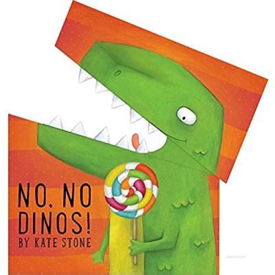 Bendon Piggy Toes Press No  No Dinos! Peek & Counting Book 38888