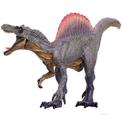 Gemini&Genius Spinosaurus Action Figures Jurassic World Park Dinosaurs Model Early Science Education and Collectible Toys for The Dino Lovers and The Coolest Gift for The Boys(Brown )