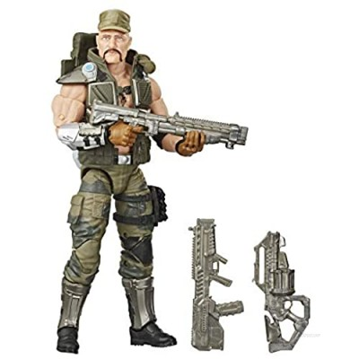 G.I. Joe Classified Series Gung Ho Action Figure 07 Collectible Premium Toy with Multiple Accessories 6-Inch Scale with Custom Package Art