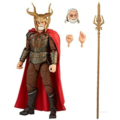 Marvel Hasbro Legends Series 6-inch Scale Action Figure Toy Odin  Infinity Saga Character  Premium Design  Figure and 4 Accessories