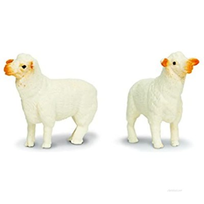 Safari Ltd. Good Luck Minis - Ewes - 192 Pieces - Quality Construction from Phthalate  Lead and BPA Free Materials - for Ages 5 and Up