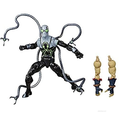 """Spider-Man Hasbro Marvel Legends Series 6"""" Collectible Action Figure Superior Octopus Toy  with Build-A-Figurepiece & Accessories"""