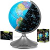 Globe for kids Learning - Globes of the World with Stand - World Globe  Constellation Globe & Night Light Kids Globe Stem Toy - Perfect Interactive Globe by Brookstone