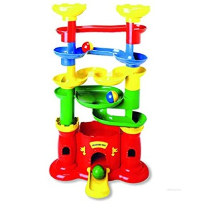 Discovery Toys Castle MARBLEWORKS Marble Run | Kid-Powered Learning | STEM Educational Building Block Toy Learning & Childhood Development 2 Years Old and Up