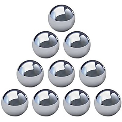 """Four Brothers Gravity Maze STEM Marble Run 1/2"""" Replacement Chromium Steel Balls (10 Pack)"""
