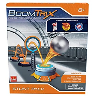Goliath Boomtrix Stunt Pack Kinetic Metal Ball Chain Reaction Stunt Kit - Fun - Educational - STEM