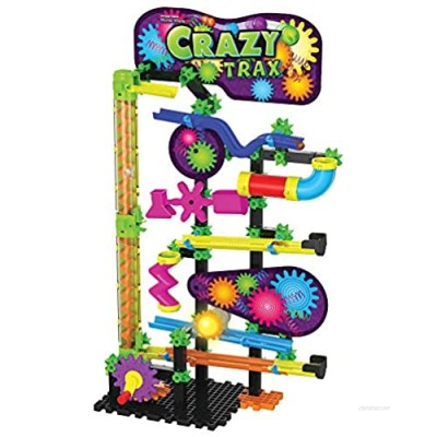 The Learning Journey Techno Gears Marble Mania - Crazy Trax Toy  Multicolor 723920