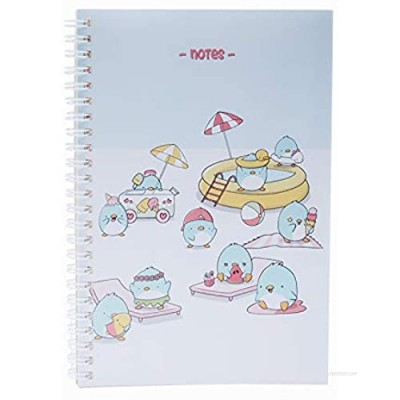 Children's notebook CUTIE SQUAD cute cartoon cover girl diary gift school office travel hardcover notes  suitable for children  boys and girls (CuiteSquad Ray POOLPARTY PENGUINS)