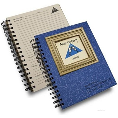 Journals Unlimited CJ-93 Anniversary Journal Book44; Blue
