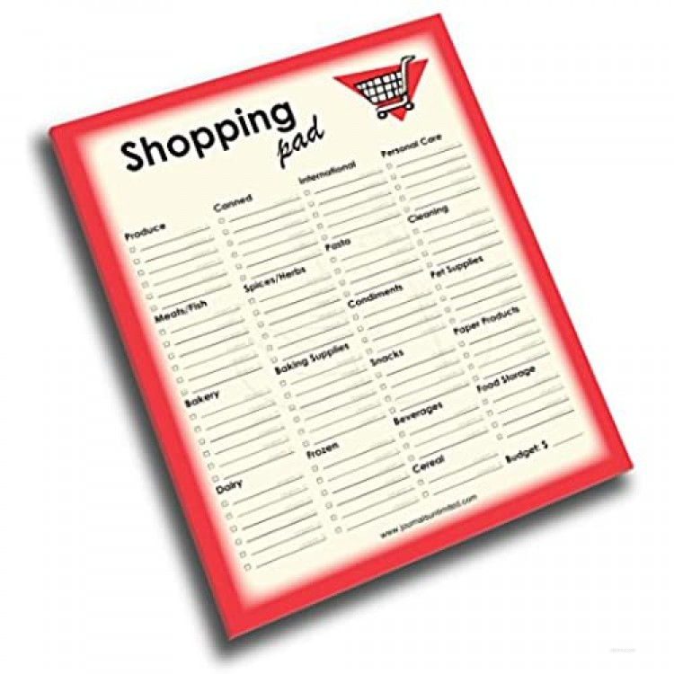 Journals Unlimited NP-425 Shopping Note Pad