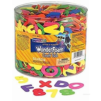 Chenille Kraft WonderFoam Letters and Numbers