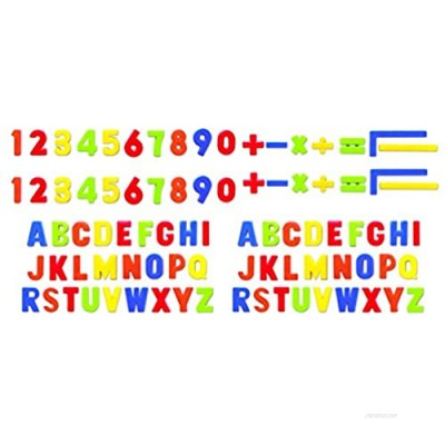 PlayGo Alphabet Magnetic Letter Numbers & Mathematical Figures (86Piece) for Toddlers Early Learning Toy Gift for Kids Classroom (73785)