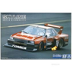 Aoshima 1/24 Scale The Model Car 11 KDR30 Skyline Super Silhouette 82 - Plastic Model Building Kit # 61022