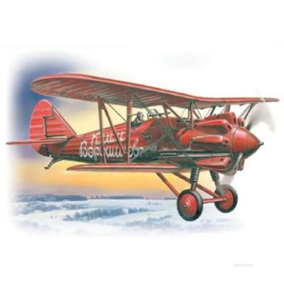 ICM Models Early I-5 Soviet Biplane Fighter Building Kit