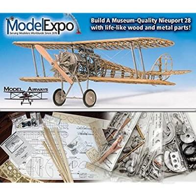 Model Expo Model Airways Nieuport 28 Rickenbacker Airplane 1917 1:16 MA1002