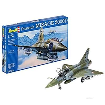 Revell 04893 Dassault Aviation Mirage 2000D 1:72 Scale Plastic Model Kit