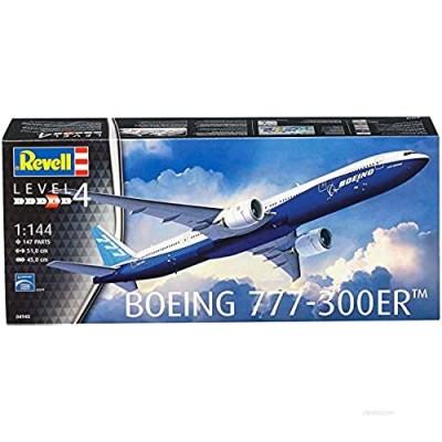 Revell 04945 Boeing 777-300ER  1:144 Plastic Model Kit Unpainted