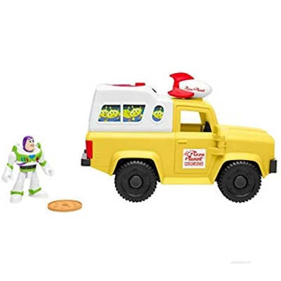 Fisher Price Imaginext Toy Story Buzz Lightyear and Pizza Planet Truck [ Exclusive]