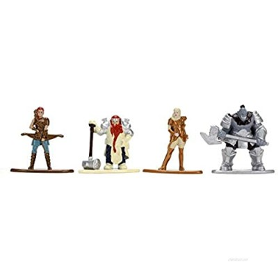 """Jada Toys Dungeons & Dragons 1.65"""""""" Die-cast Metal Collectible Figures 4-Pack Starter Pack B  Toys for Kids and Adults (31961)"""