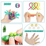 Fidget Toys Set Fidget Pack Sensory Toys for Kids and Adults Stress Relief and Anti-Anxiety Autistic ADHD Toy Set