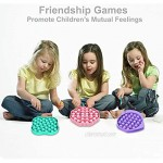 LBFNKCH 2PCS Push Pop Bubble Fidget Sensory Toy Sensory Irritability Toy for Autism with Special Needs Puzzle Toys Stress Relief and Anti-Anxiety Tools for Kids and Adults