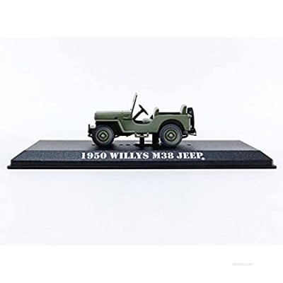 1950 Willys M38 Army Green MASH (1972-1983) TV Series 1/43 Diecast Model Car by Greenlight 86594