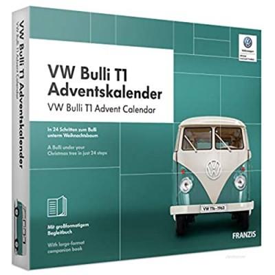 Eight Innovation VWAC019 Volkswagen Bulli T1 Advent Calendar  Black