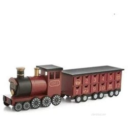Ex chain store Licenced Harry Potter 9 3/4 Wooden Train Advent calendar