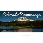Colorado Boomerangs Alpine Wooden Boomerangs - Weighted Hand Crafted Wooden Boomerangs from