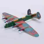 RI Novelty Assorted WWII Plane Gliders - 7.5 Lot of 48