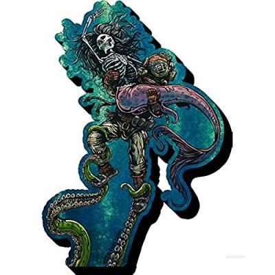 Aquarius David Lozeau Catch or Release Funky Chunky Magnet