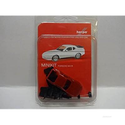 "Herpa 012768-002"" Porsche 944"" Mini Kit  Red"