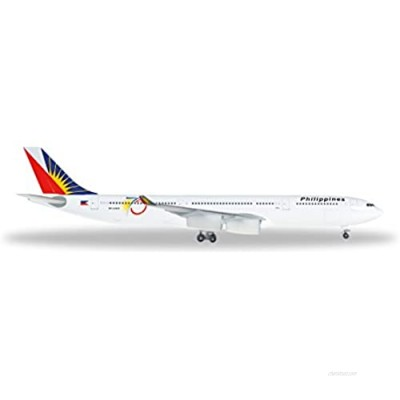 Herpa 529341–Philippine Airlines Airbus A34030075th Anniversary Vehicle
