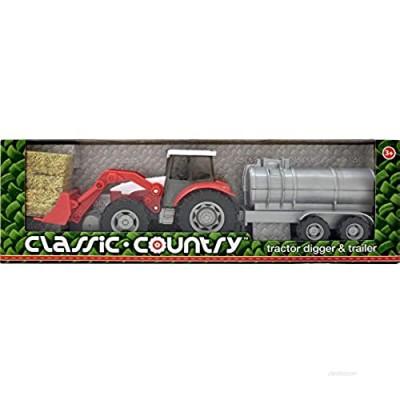 Peterkin 55081 Tractor Digger & Tanker Trailer  Multi