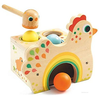 DJECO Tapatou Chicken Toddler Toy