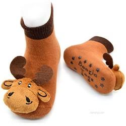 Moose Boogie Toes Rattle Socks  1-Pair