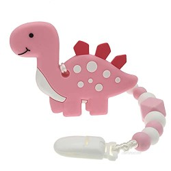 Teething Toys for Babies 6-12 Months - BPA Free Silicone Baby Teether Teething Dinosaur Toys for Babies Infant Toy for 0-24 Months Baby Boys & Girls
