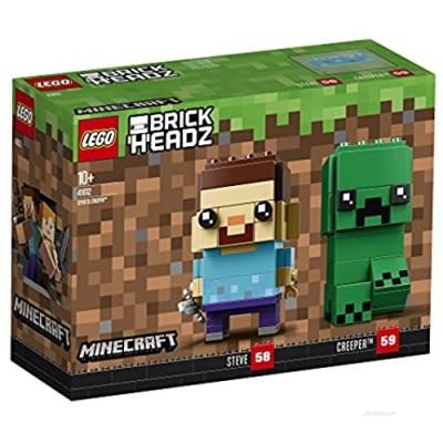 LEGO BrickHeadz Steve & Creeper (41612) Minecraft Figures