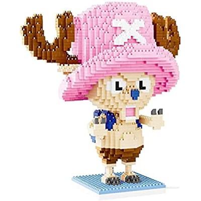 Cartoon Character Model Building Block Set Nano Micro Blocks Diamond DIY Toys (2100Pcs)